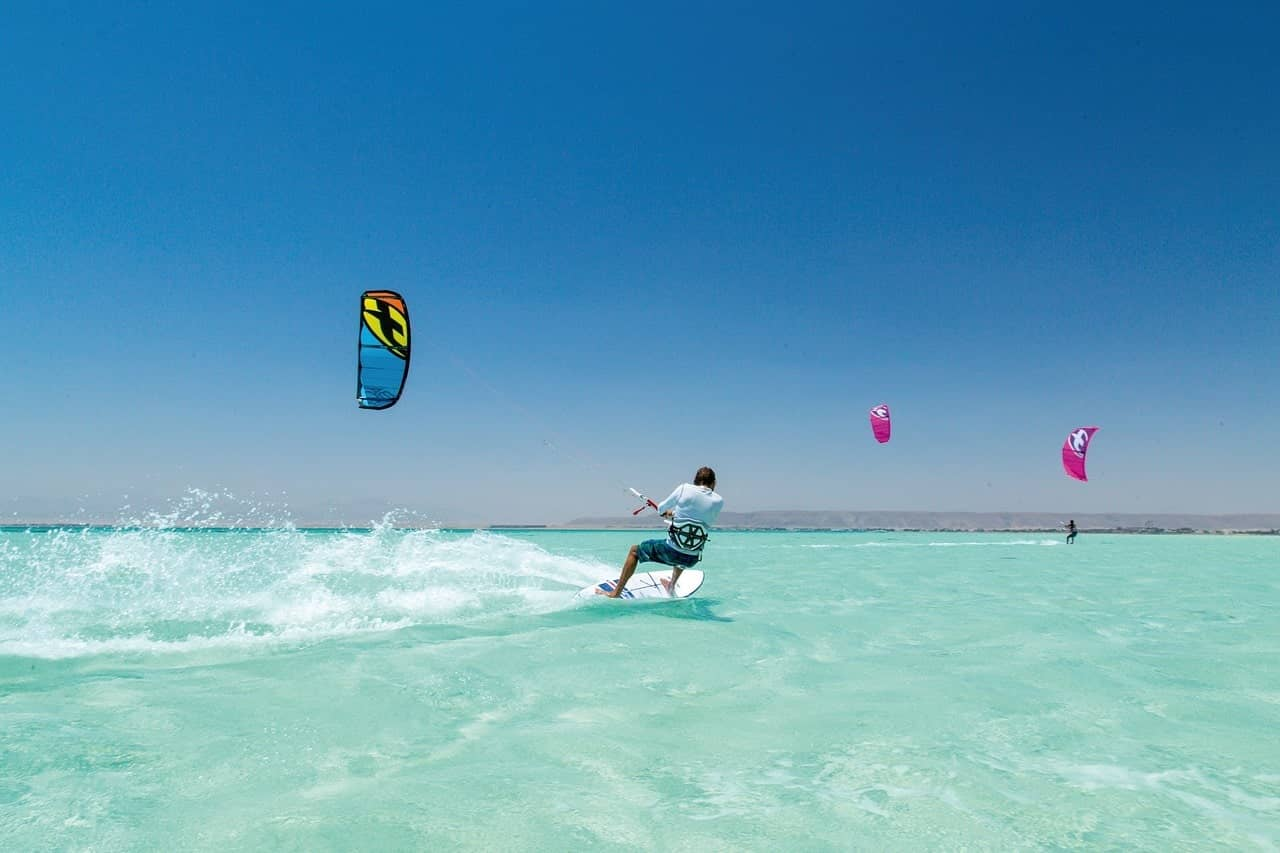 Best time to visit Egypt | Hurghada windsurfing