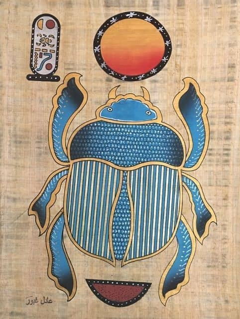 Egyptian symbols and meanings | Scarab