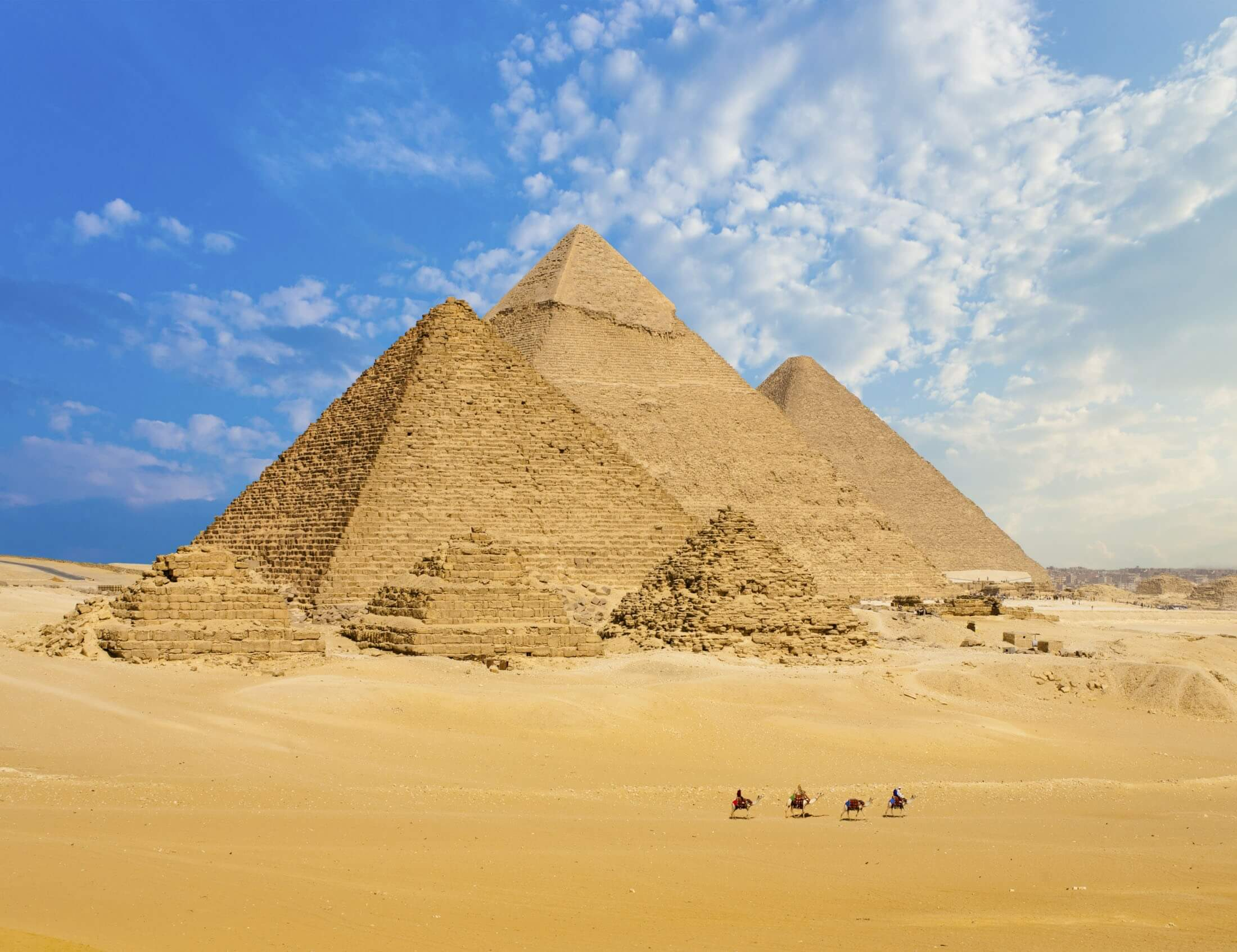 Giza Pyramids day tour