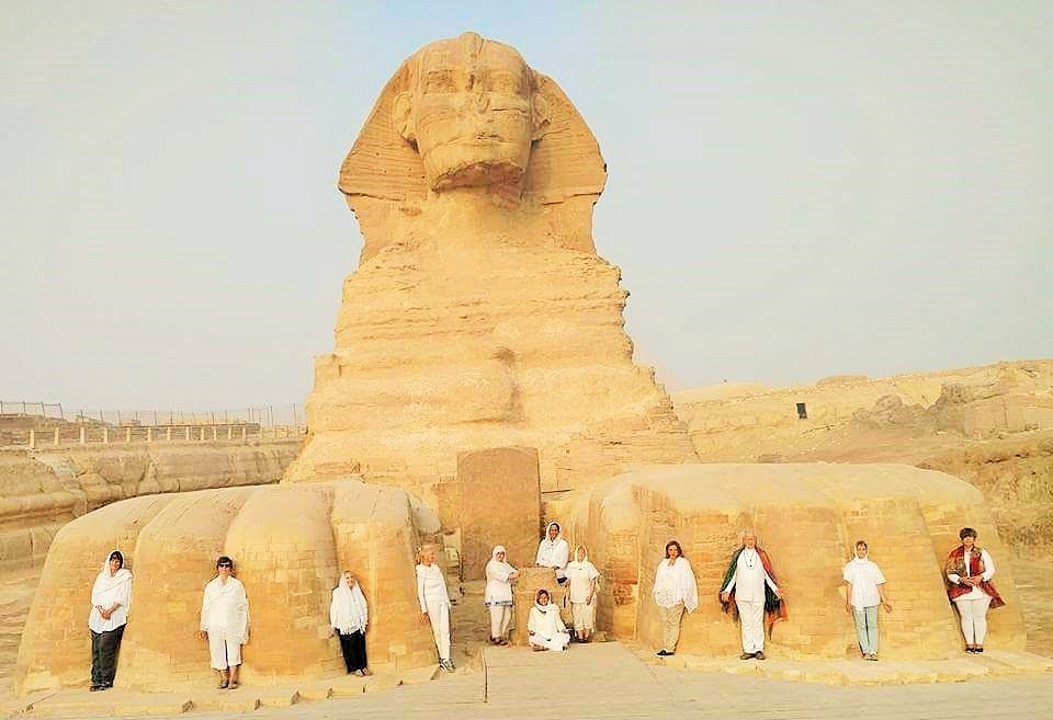 meditation at the Sphinx